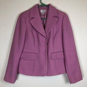 LOFT lilac purple wool blazer 6 petite 6p